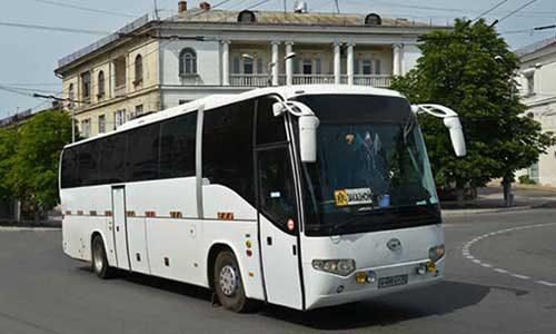 hajger avtobus foto